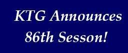 KTG Announces 86th season