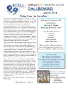 March 2014 Call Board Newsletter