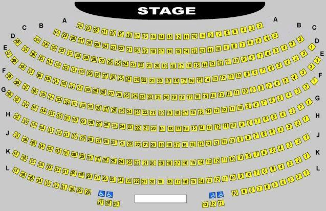 Robert Reim Theatre Seating Chart