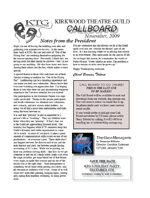 CallBoard Newsletter