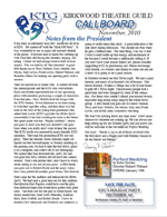CallBoard Newsletter November 2010