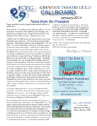 October 2013 Call Board Newsletter